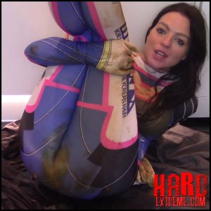 Puke Cosplay Scat Smear – Evamarie88 – Scat Solo