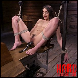 Cute Little Avi Love Is Bound And Machine Fucked – Kink – FuckingMachines, Squirting