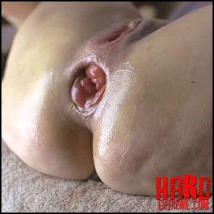 My most extreme anal gape session – ArgenDana – Extreme Fisting