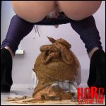 I was defeated – MilanaSmelly – Toilet Slavery, Defecation