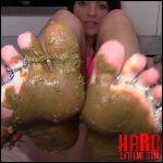 Foot Shit Slave – Evamarie88 – Scat Solo, Scat Defecation