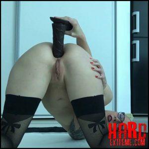 Whipped cream filled up asshole – Eleanor Wild – Large Toys