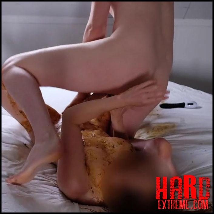Scat Blowjob Porn - Crazy smearing, scat blowjob and pissing – Heatherfly – Scat ...