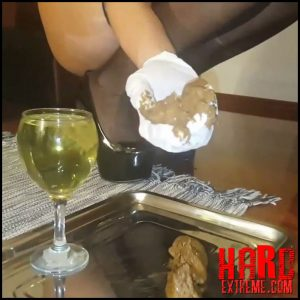 Kidnapping, tie and tease, poppers, champagne, kaviar – Mistress Antonella Silicone – Scat Solo