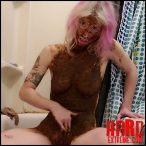 Stored Shit Smear and Masturbate – Xxecstacy – Poop, Shit, Kaviar Scat